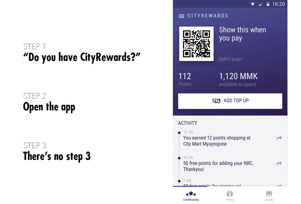New proposal for no-interaction app